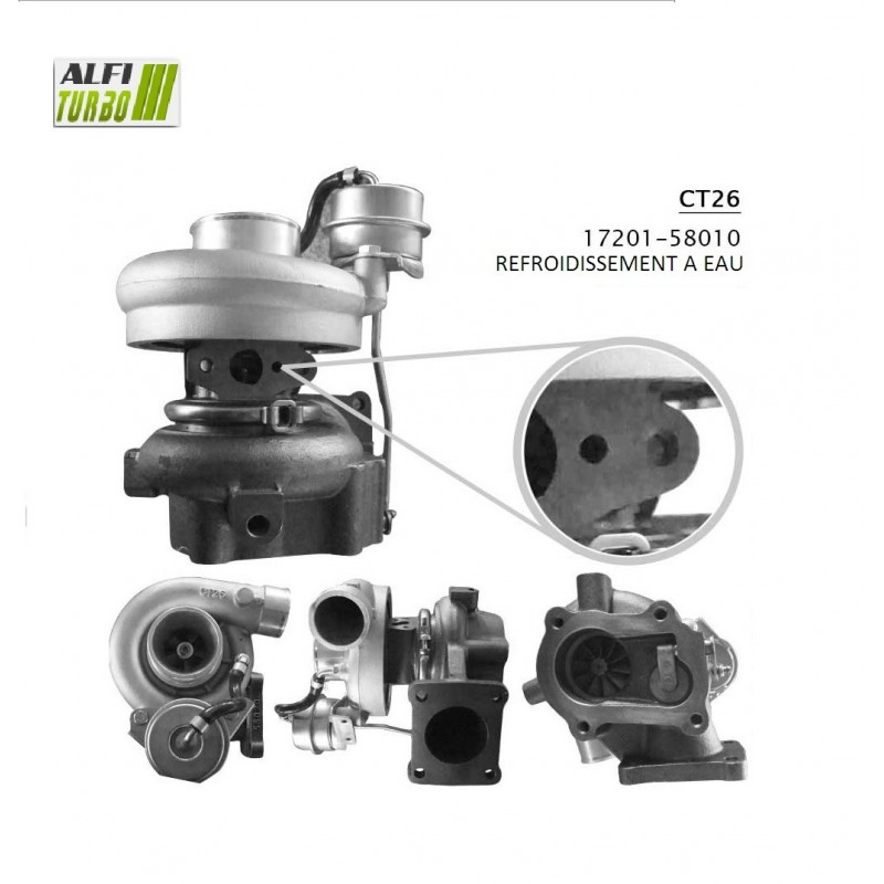 turbo toyota LANDCRUISER 3.4D 95 CV 17201-58010  1720158010