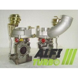 turbo HYBRID 2.7T 230 cv coté gauche 53039700016, 53039880016,  K03-016