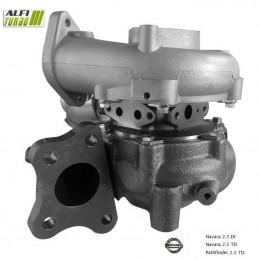 turbo HYBRID nissan NAVARA 2.5 DI 144CV 767720-5005S / 767720-5003S / 767720-0005 / 767720-0003 / 14411EB71C